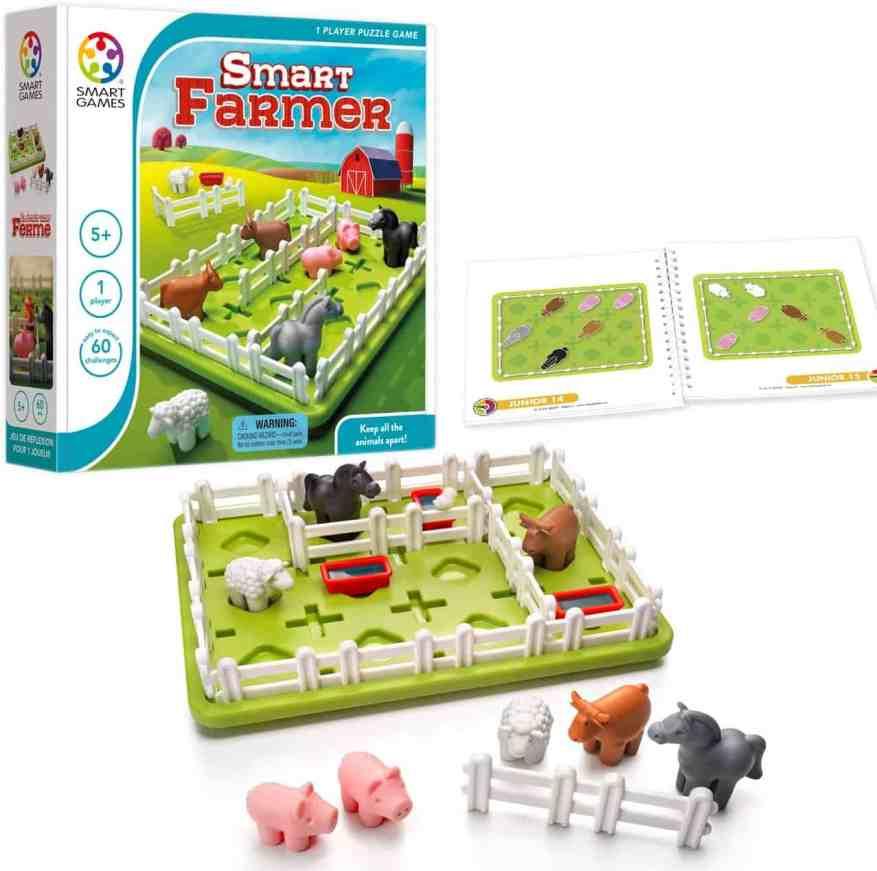 SmartGames Smart Farmer Board Game