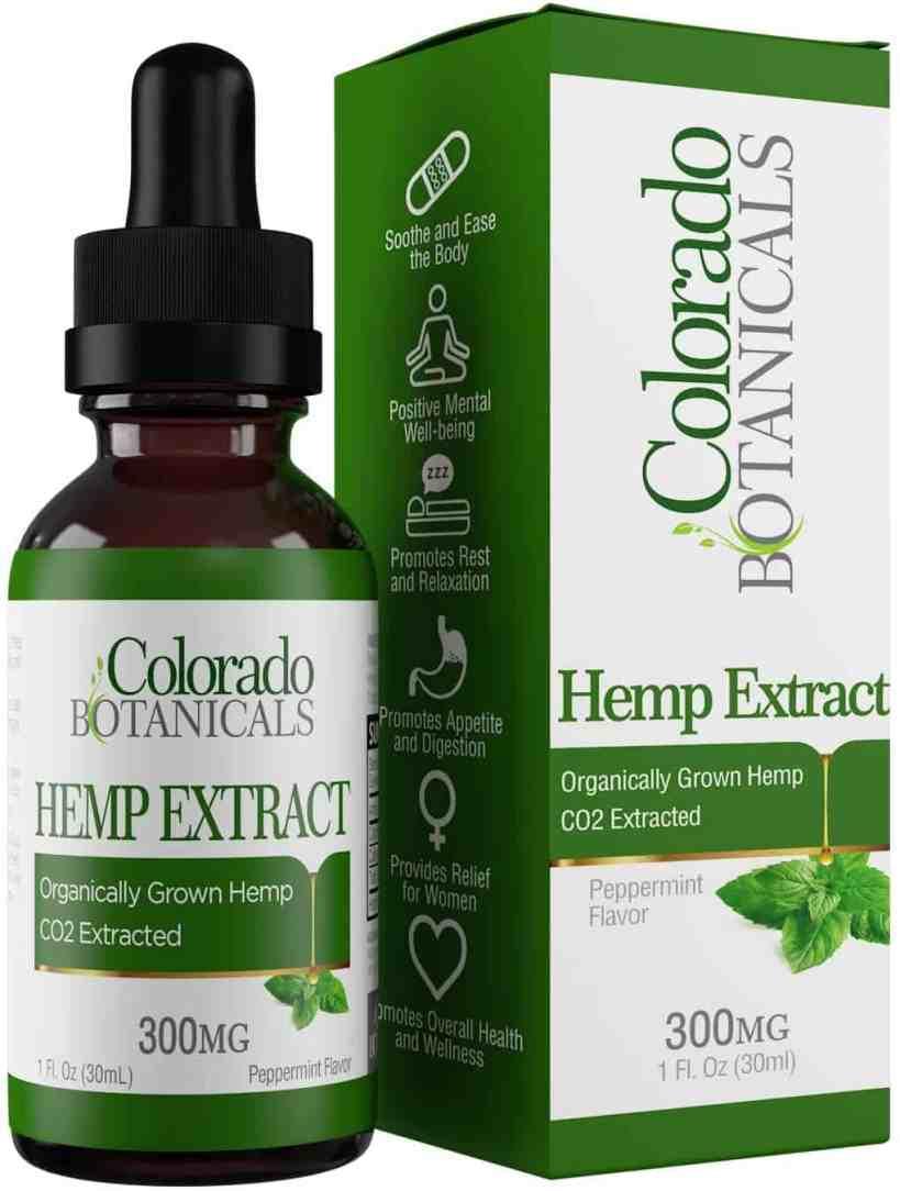 Hemp Oil Extract