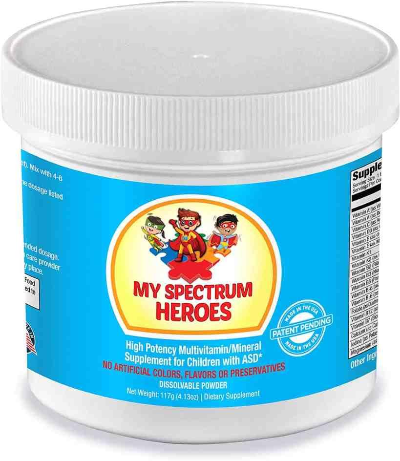My Spectrum Heroes Kid's Multivitamin Supplement