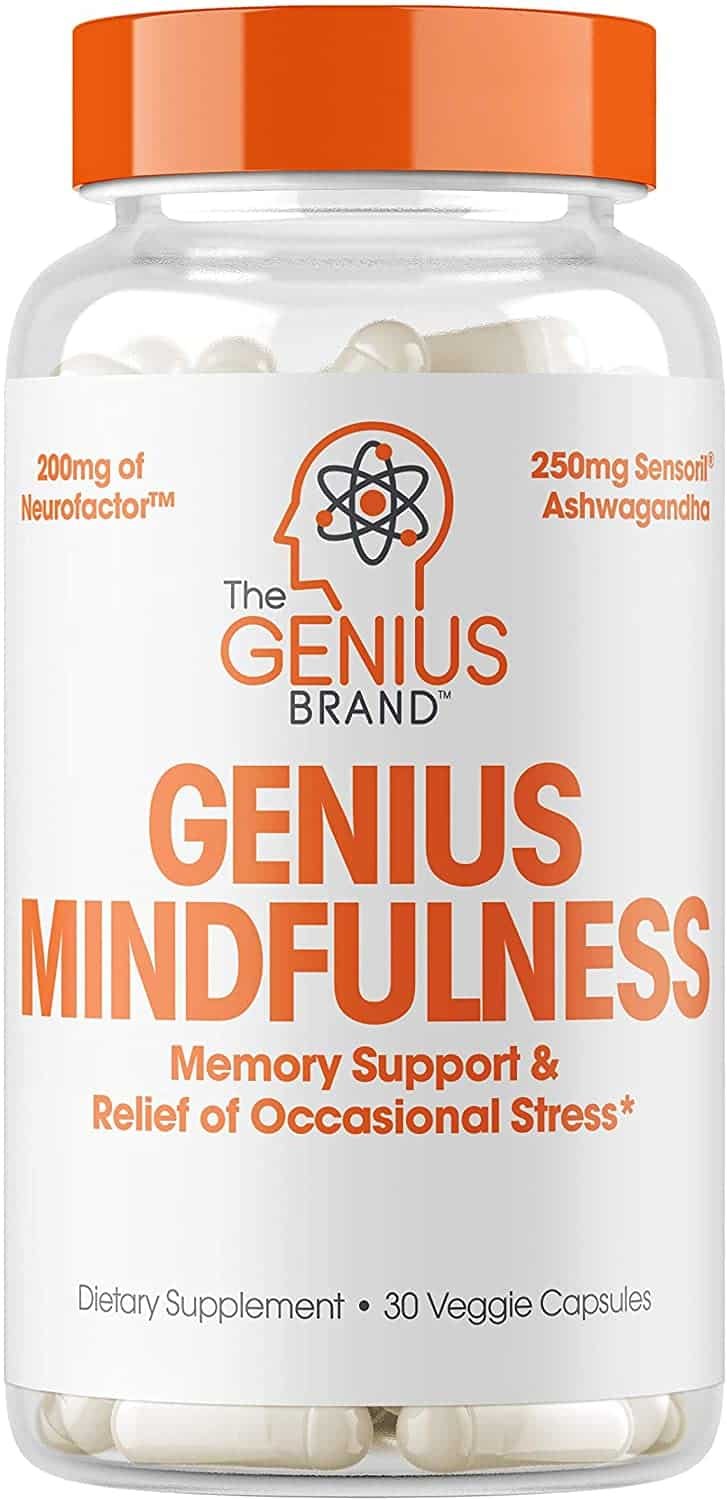 Genius Stress and Anxiety Relief Supplement