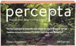 Percepta Plant Based Memory Support