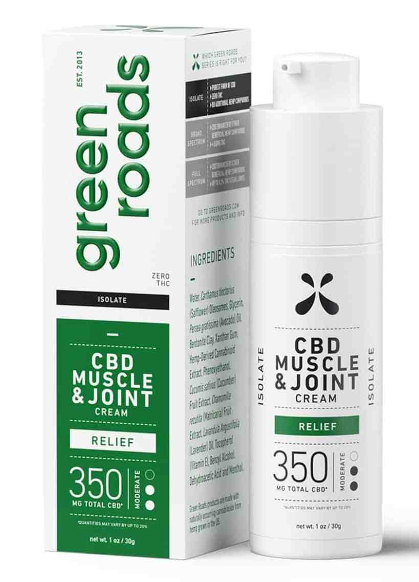 Green Roads CBD Topical Cream