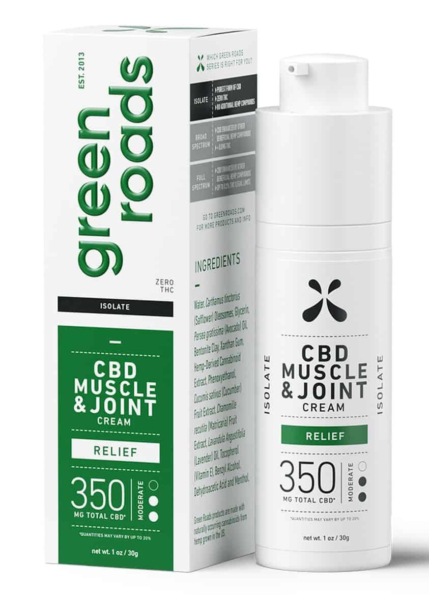 Green Roads CBD Topical Cream