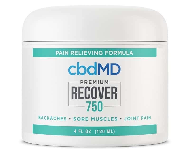 cbdMD CBD Recover Tub