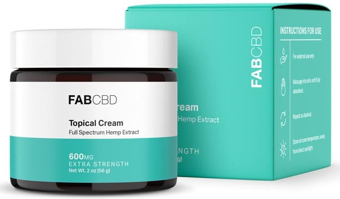 FAB CBD Topical CBD Cream