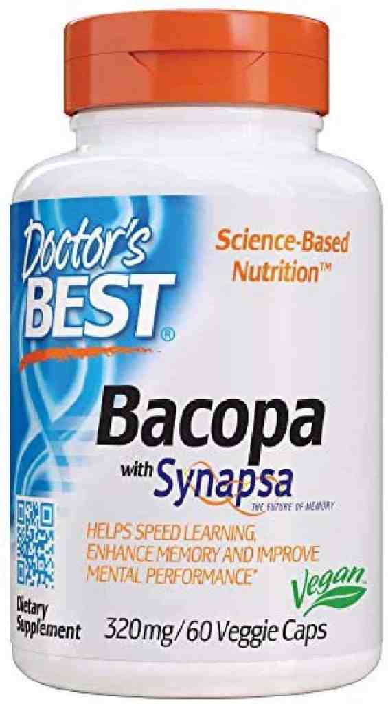 Doctor's Best Bacopa with Synapsa