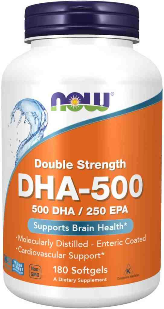 NOW Supplements, DHA-500