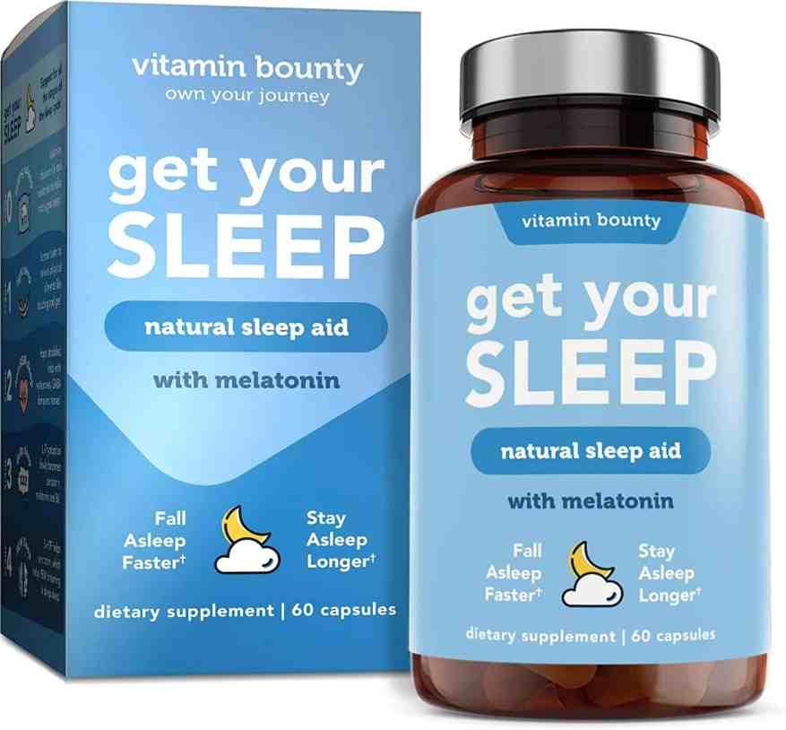 Vitamin Bounty - Get Your Sleep