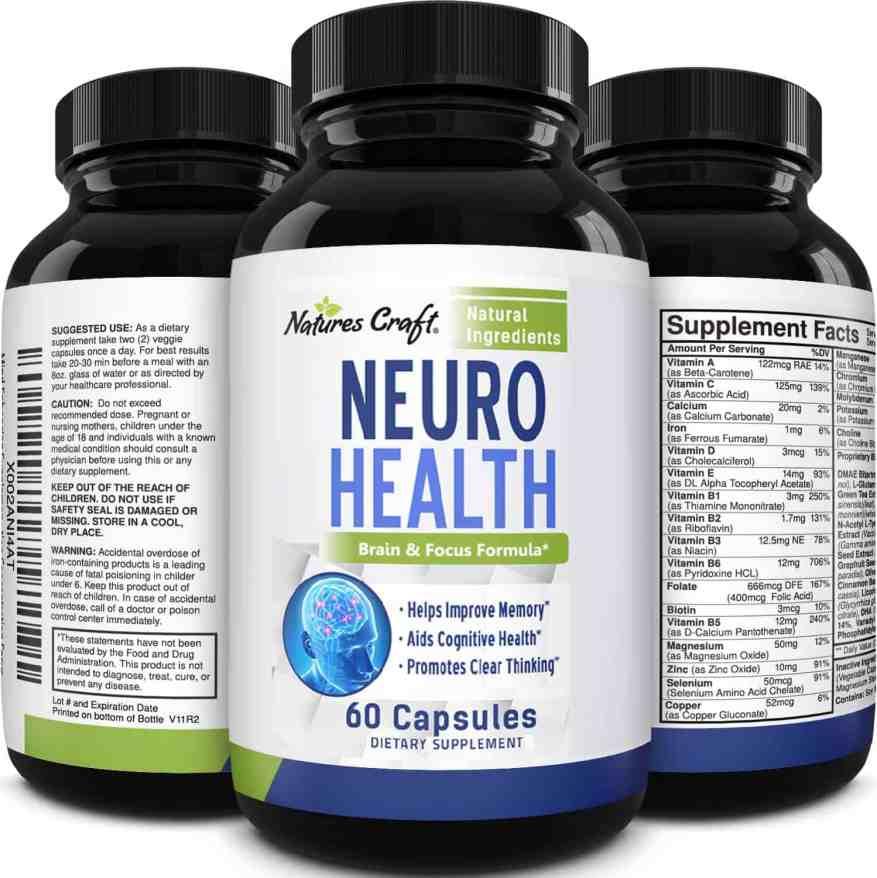 Huntington Neurotic Supplement