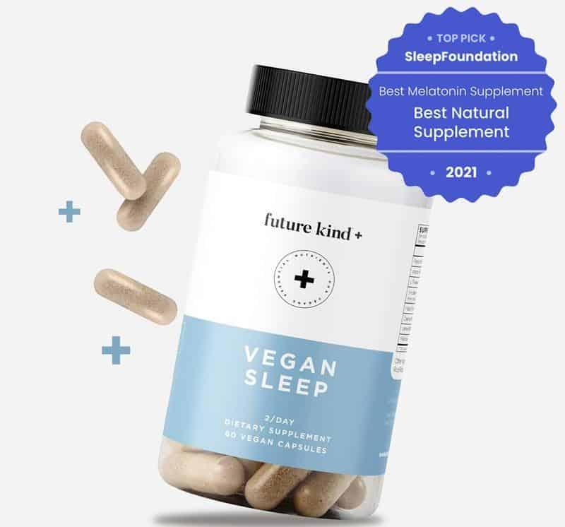 Future Kind + Vegan Sleep - Natural Sleep Aid Supplement