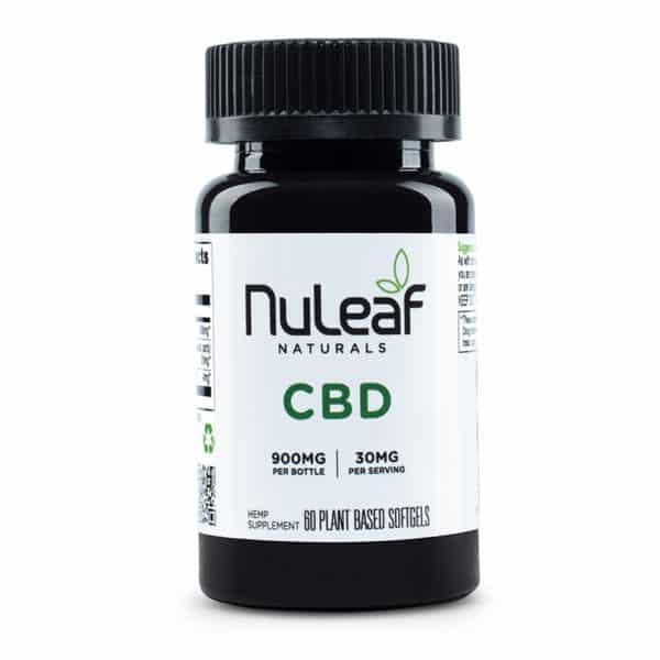 Nuleaf Naturals CBD Capsules