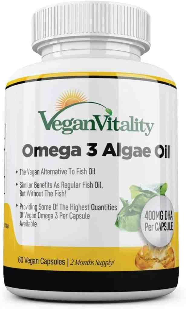 Vegan Vitality Omega-3 400mg