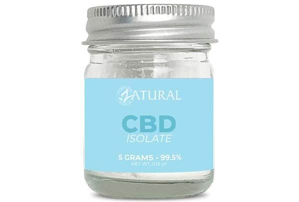 Zatural CBD Isolate Powder Pure CBG