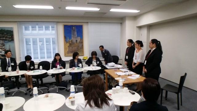 第一回国際介護看護人材とのトークセッション