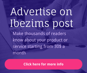 Advertise on Ibezims post
