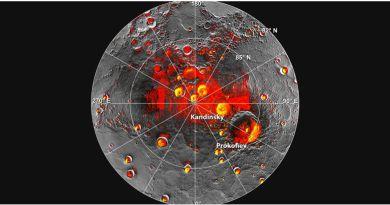 mercury ice water deposits