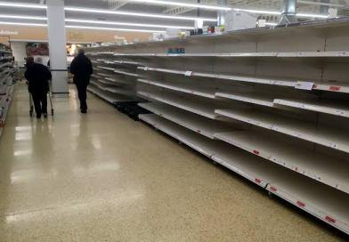 How coronavirus creates empty shelves and toilet paper shortages