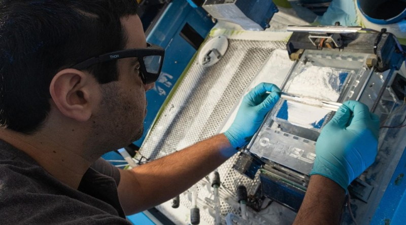 selective laser sintering system