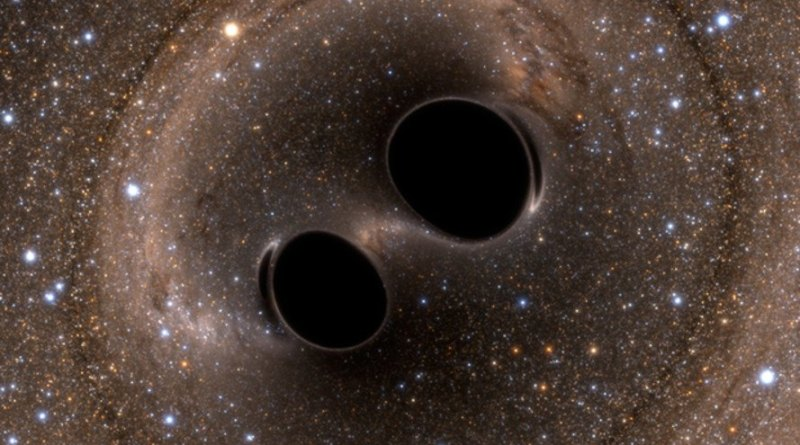 Astronomers say they've detected the most massive merger of two black holes ever discovered