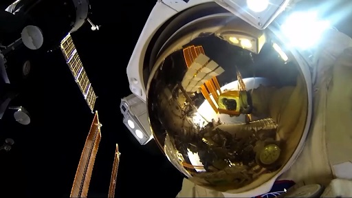 Monitoring astronauts