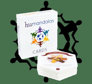 Mindfulness meditation card deck for groups