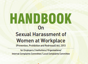 Photo of HANDBOOK On Sexual Harassment of Women at Workplace
