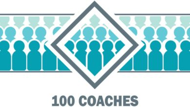 Photo of 100 Coaches in our Pay-it-forward project by Dr Marshall Goldsmith