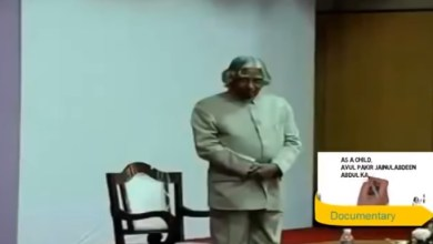 Photo of Dr. A P J Abdul Kalam Motivational and Powerful Speech in IIT Madras