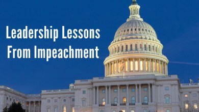 Photo of Leadership Lessons from Impeachment