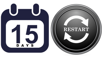 Photo of 15 Days to RESTART