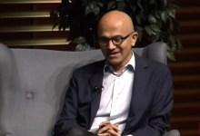 Photo of Satya Nadella, CEO of Microsoft