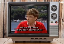 Photo of Bill Gates in 1989 On His Hiring Process, Microsoft's Seattle Area Office