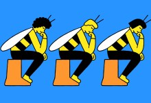 Photo of If you want to take on big problems, try thinking like a bee