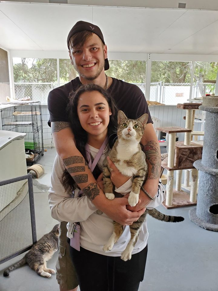 Another beautiful adoption story begins at the Humane Society of the Nature Coast.