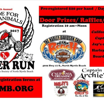 17th Annual Ride for the Animals