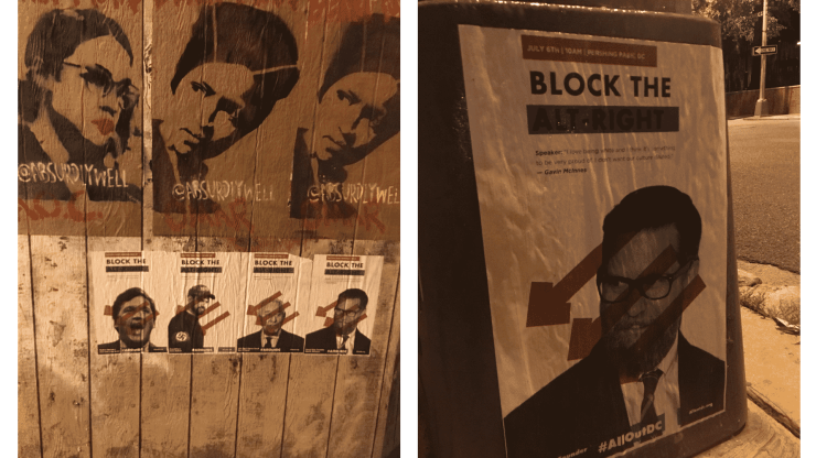 Antifa All Out DC Posters