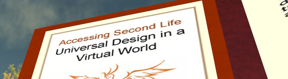 Post image for Making virtual worlds more accessible – a new context area for Human Factors