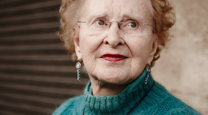 Nonagenarian designs for aging and inspires younger designers