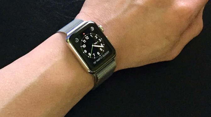 Three months with Apple Watch