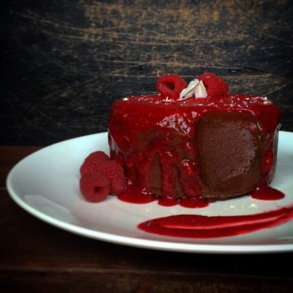 Raw Chocolate Raspberry Ice Cream Cake - Humanfitproject