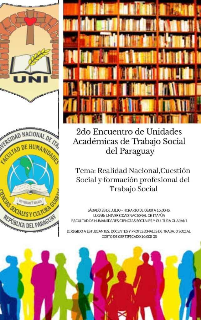 EXITOSO 2do. ENCUENTRO DE UNIDADES ACADEMICAS DE TRABAJO SOCIAL DEL PARAGUAY