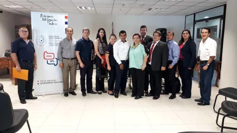 """Humanidades presente en el taller de """"Acompañamiento Técnico a las Unidades de Asuntos Lingüísticos dependientes del Poder Ejecutivo"""""""