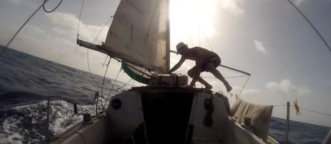 Transatlantique en solitaire – 21 jours en voilier ! Part 2
