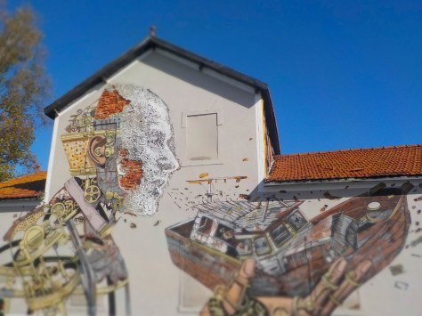 photo Street Art Lisboète !