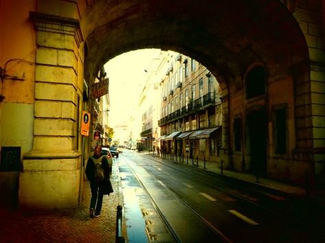 Élodie à Lisbonne !