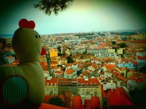 image vue de Lisbonne