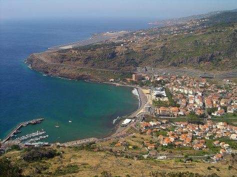 photo ville et port machico