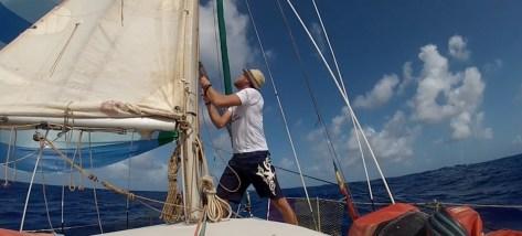 Transatlantique en solitaire – 21 jours en voilier ! Fin