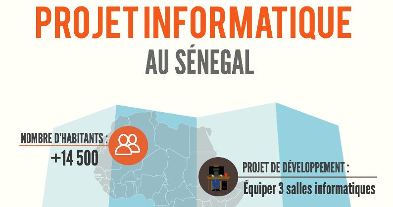 Projet informatique au Sénégal (Sine Saloum)