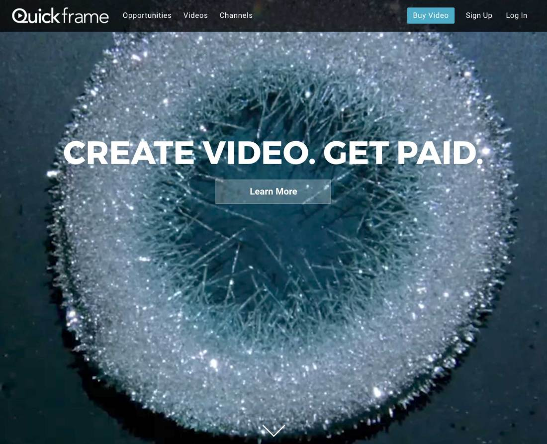 Quickframe homepage